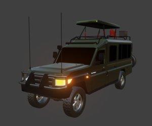 3D tour land cruiser