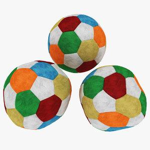 stuffed ball 3D model