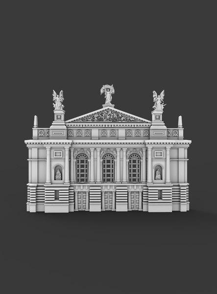 souvenir relief 3D model
