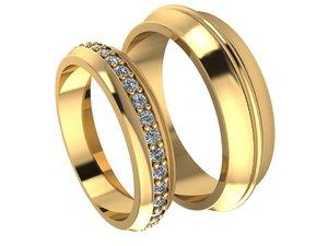 rings beautiful 3D