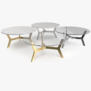 3D elke coffee table