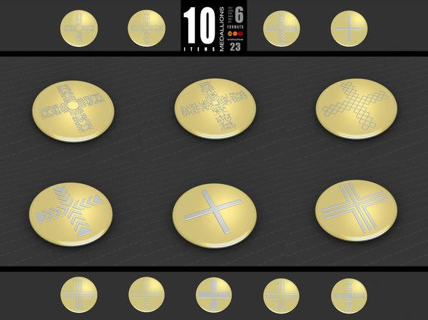 medallions vol 23 3D