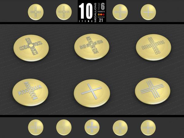 medallions vol 21 3D model