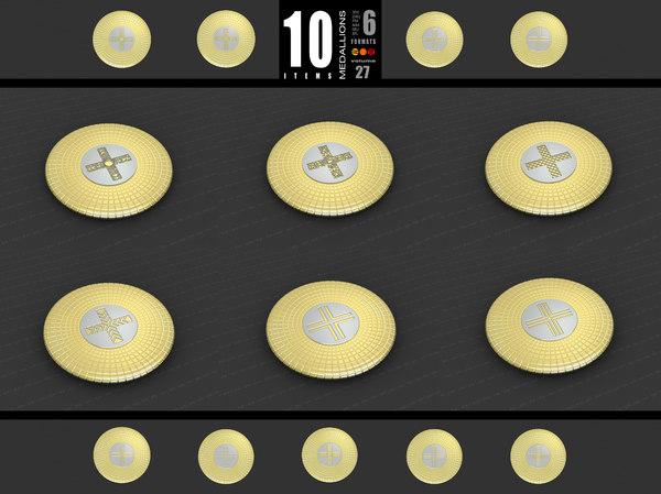 medallions vol 27 model