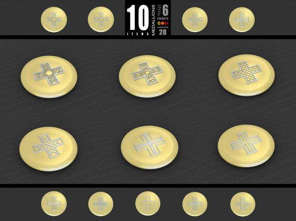medallions vol 28 3D model