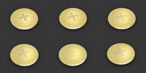 3D model medallions vol 26