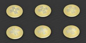 3D medallions vol 29