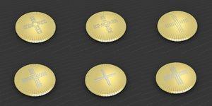 medallions vol 25 3D model