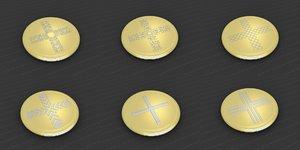 3D medallions vol 24