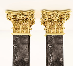 classical decoration ornamental model