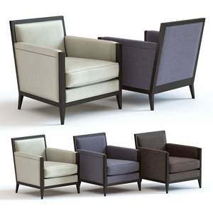 3D sofa chair bradley armchair
