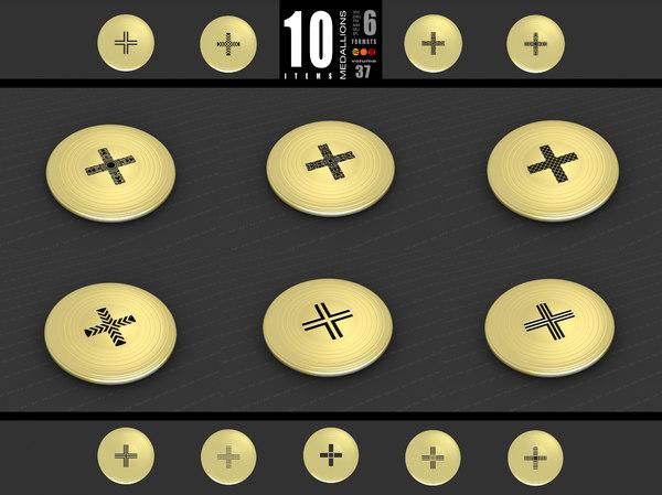 medallions vol 37 model