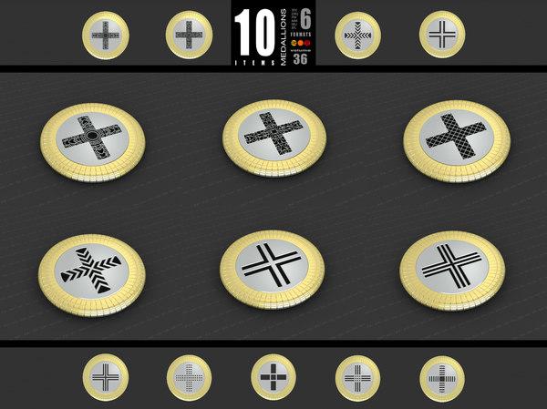 3D medallions vol 36