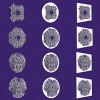 Mandala Frames Vol 05