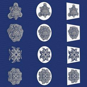 mandala frames vol 06 3D model
