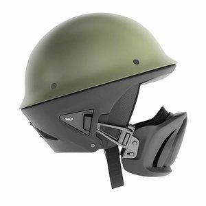 3D model motorcycle helmet bell roque