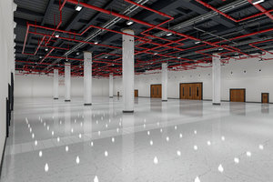 exhibition hall interior 7 3D model