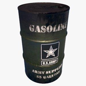 barrel military2 model