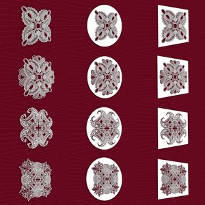 mandala frames vol 17 model
