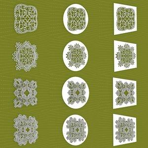 mandala frames vol 12 3D