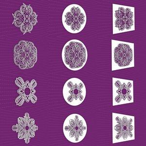 mandala frames vol 19 3D model