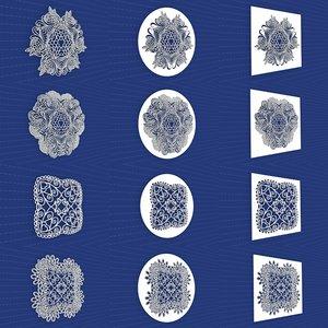 mandala frames vol 22 3D model