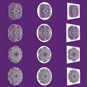 mandala frames vol 20 3D