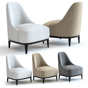 3D model sofa chair stanley armchair
