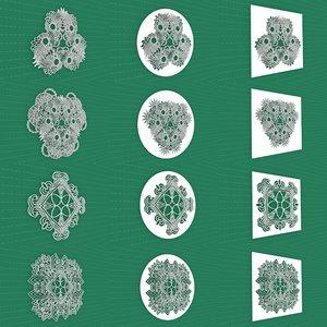 mandala frames vol 25 model