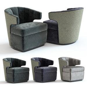 3D model sofa chair gibbs armchair