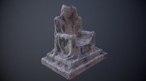 stone throne - light model