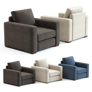3D sofa chair brancusi armchair model