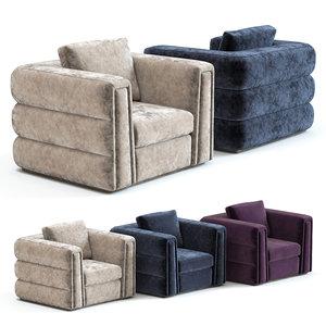 3D sofa chair cloe