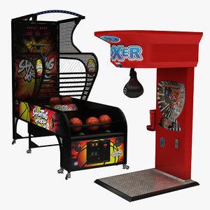 boxing arcade basketball 3D