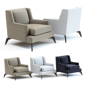 3D sofa chair enzo armchair model