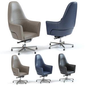 3D model sofa chair magnum swiwel
