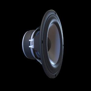 3D speakers subwoofer woofer
