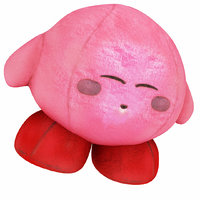 pink plush 3D model