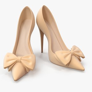 women s shoes light 3D model