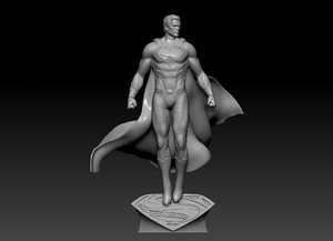 print ready men steel model