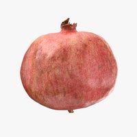 3D pomegranate pbr model