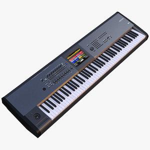 synth keyboard korg 3D model