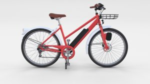 electric bicycle 3D