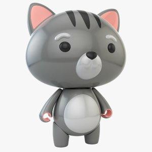 3D cat toy