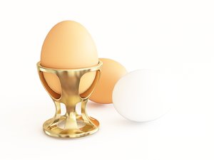 3D egg stand