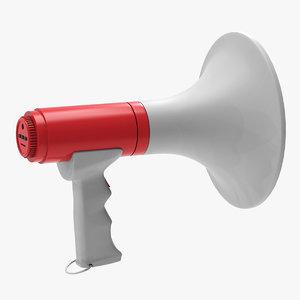 3D megafon