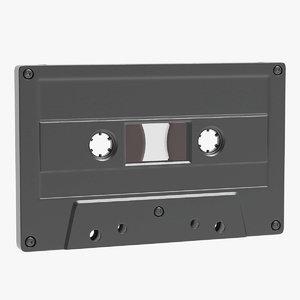 cassette materials 3D model