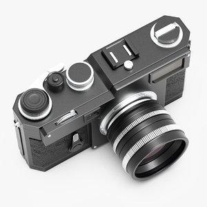 foto camera retro 3D model