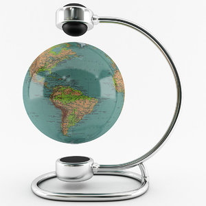 magnetic globe maps 3D
