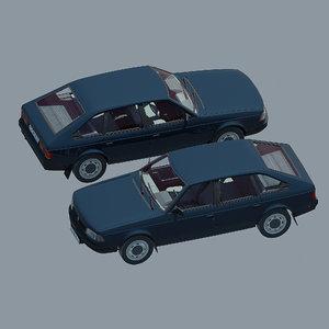 3D car moskvich 214122 azlk model
